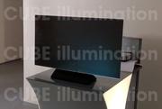 Презентационное и выставочное оборудование. (CUBE illumination)