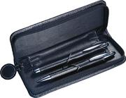 Ручка металлическая в футляре, чёрная