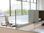Экран для офисных столов-перегородка на стол